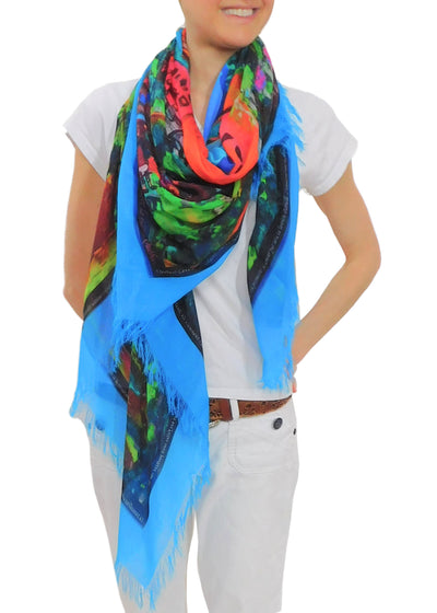 ENTER THE GATES OF LOVE SCARF