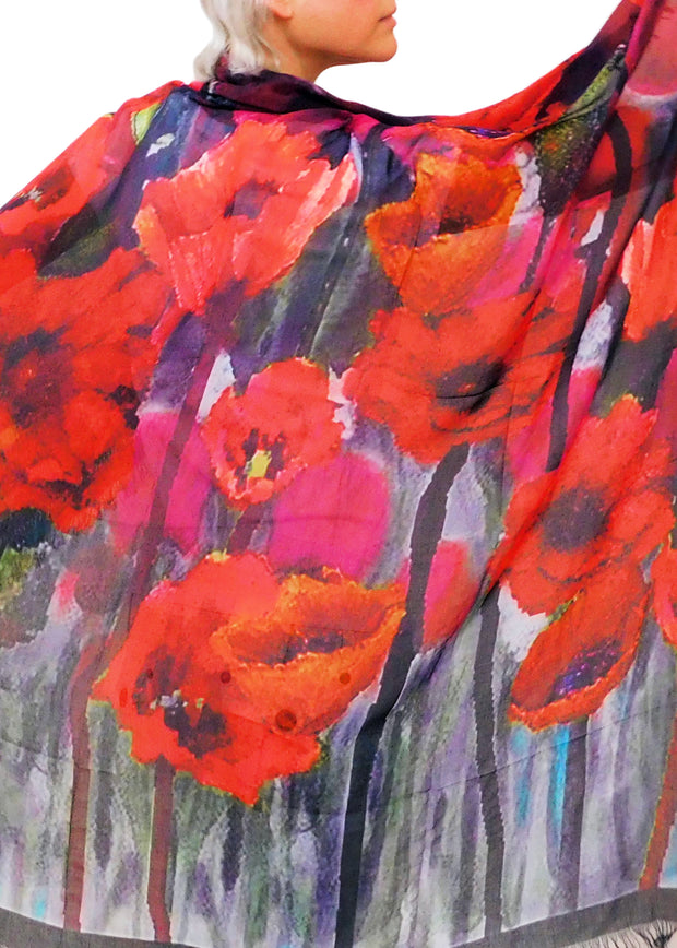 FAITH LIKE A POPPY SEED- A GREATER LOVE SCARF
