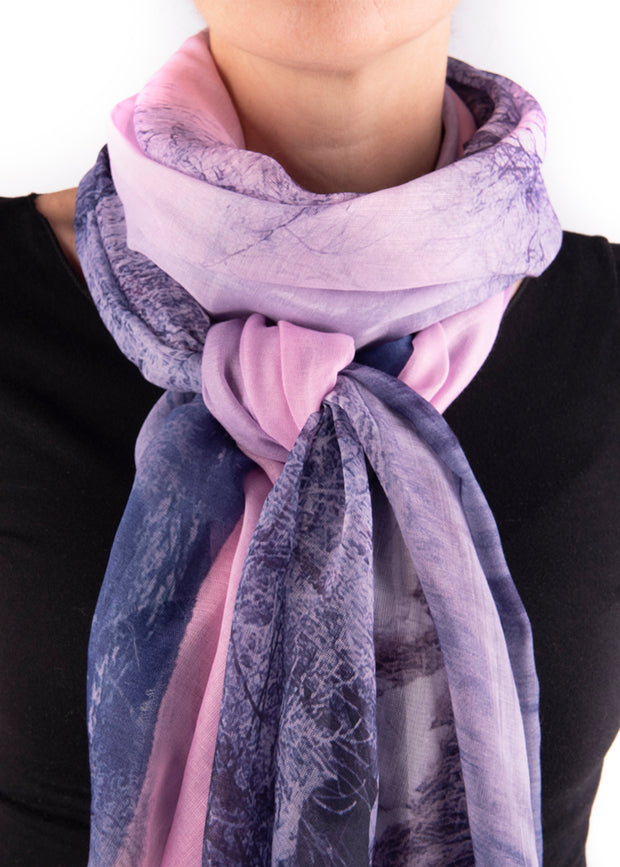 IN FOCUS - MIST ON THE WATER SCARF
