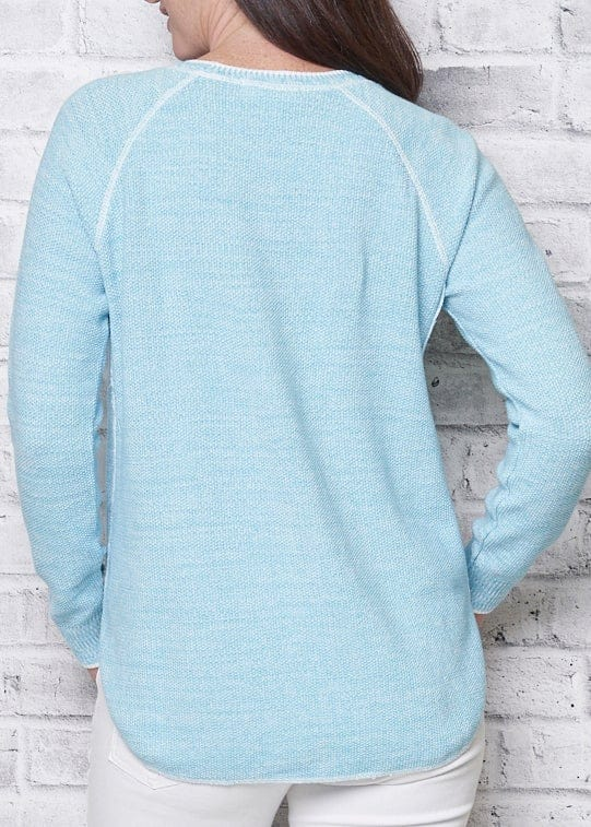 PARKHURST - SHAPED HEM SWEATSHIRT