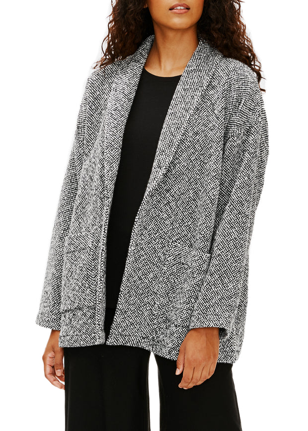 EILEEN FISHER - PERUVIAN COTTON JACKET