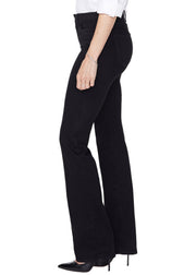 BARBARA BOOTCUT - BLACK sizes 00 - 18