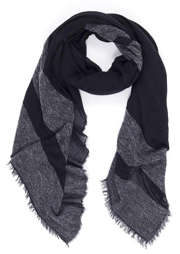 SUZI ROHER - MOLLY SCARF - BLACK