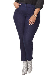 SHERI SLIM WOMENS (PLUS) - RINSE