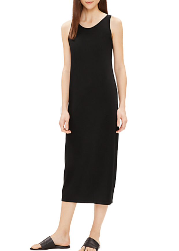 EILEEN FISHER - THE SYSTEM - SCOOP NECK TANK DRESS -1036167