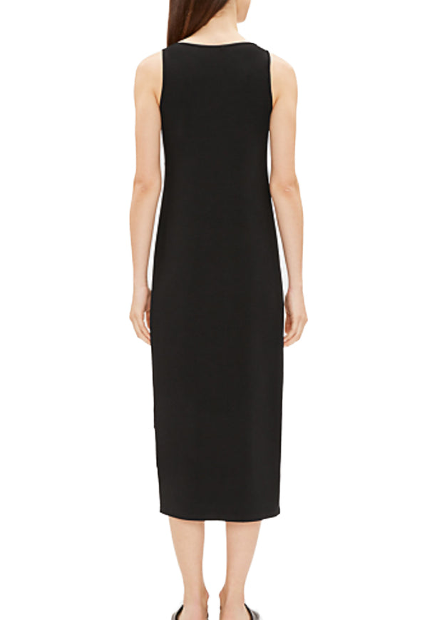 EILEEN FISHER - THE SYSTEM - SCOOP NECK TANK DRESS