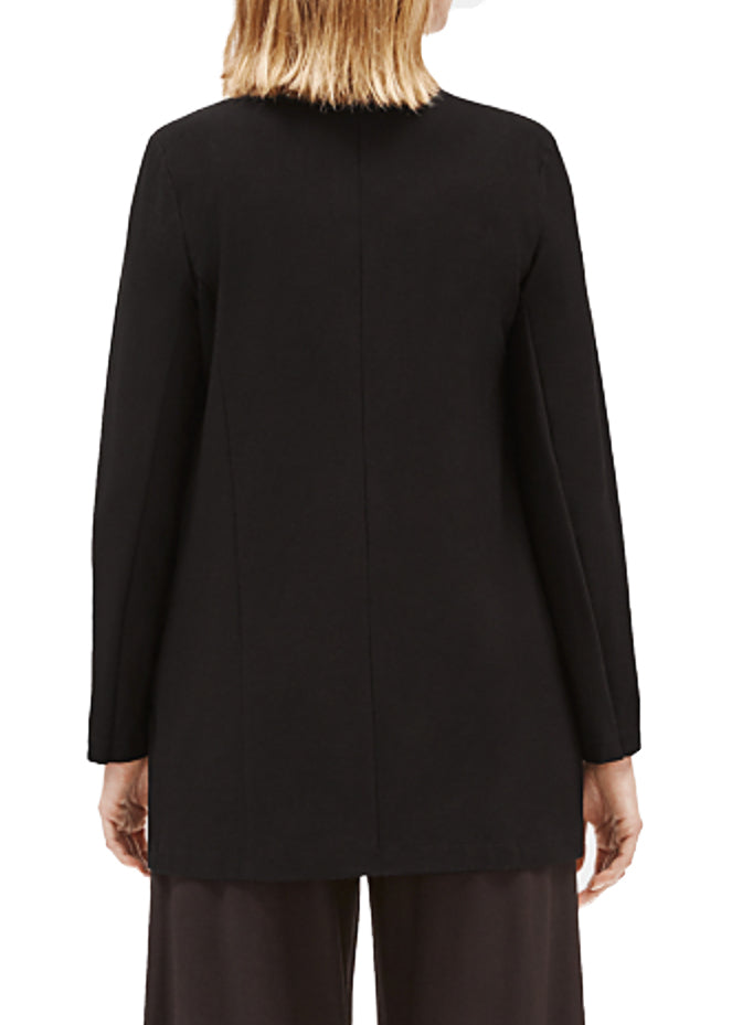 EILEEN FISHER - THE SYSTEM -  CREPE LONG JACKET - 1055450