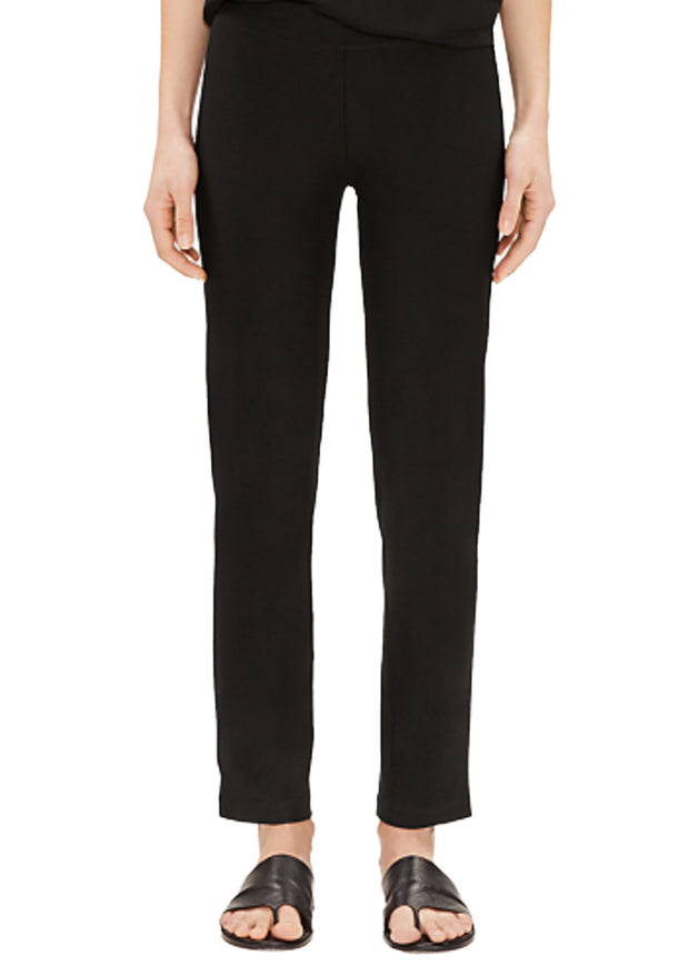 EILEEN FISHER - THE SYSTEM -  SLIM ANKLE PANT WITH YOLK - 1055969