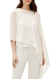 EILEEN FISHER - THE SYSTEM - SILK SOLID SCARF - 1056004