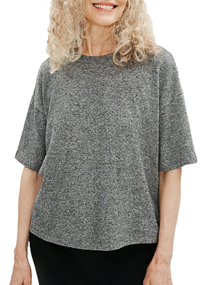 EILEEN FISHER - CREW NECK TOP