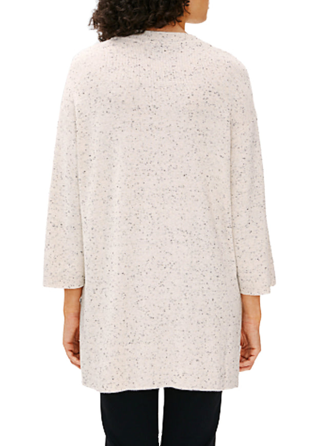 EILEEN FISHER - CREW NECK TUNIC SWEATER
