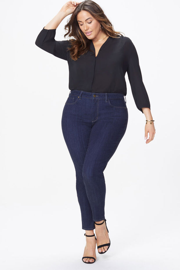 NYDJ - AMI SKINNY WOMENS - COOPER (MID BLUE) AND RINSE (DARK INDIGO) sizes 14W to 28W