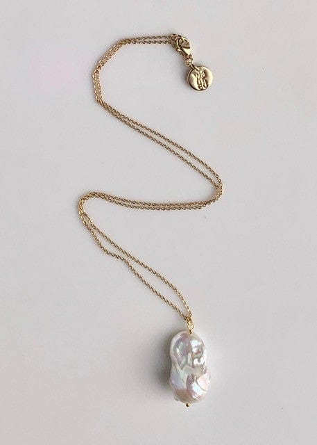 WANTED - BAROQUE PEARL PENDANT NECKLACE