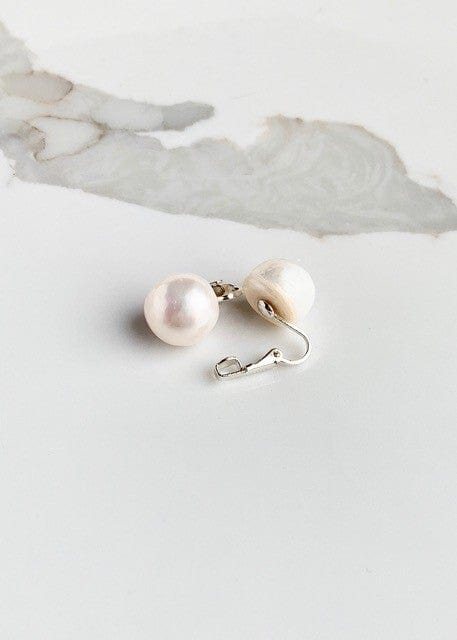 WANTED - CLIP ON PEARL EARRINGS