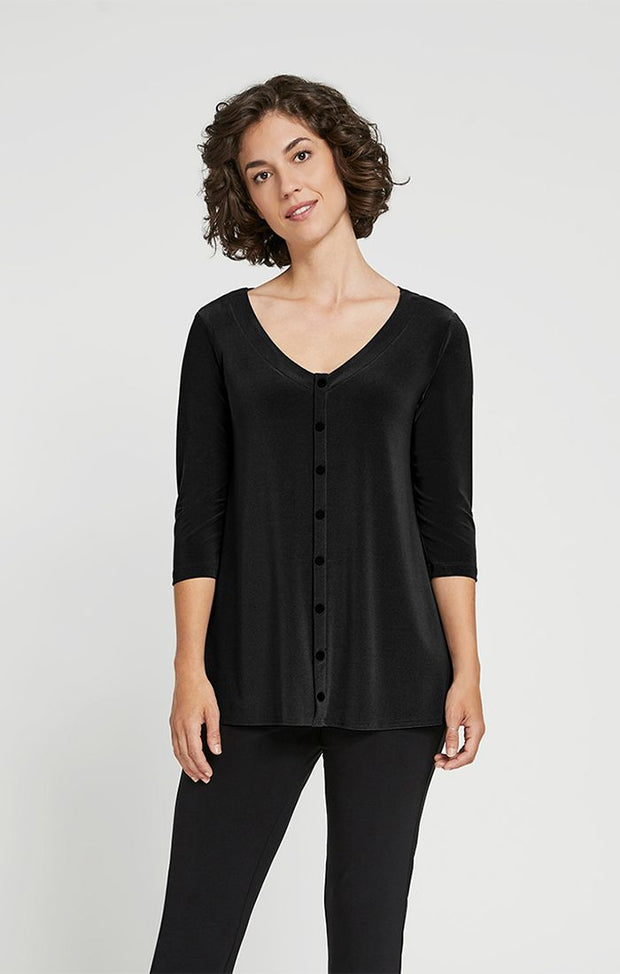 ICON REVERSIBLE TOP - BLACK