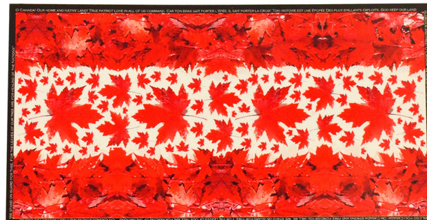 LOVES PURE LIGHT - OH CANADA! SCARF