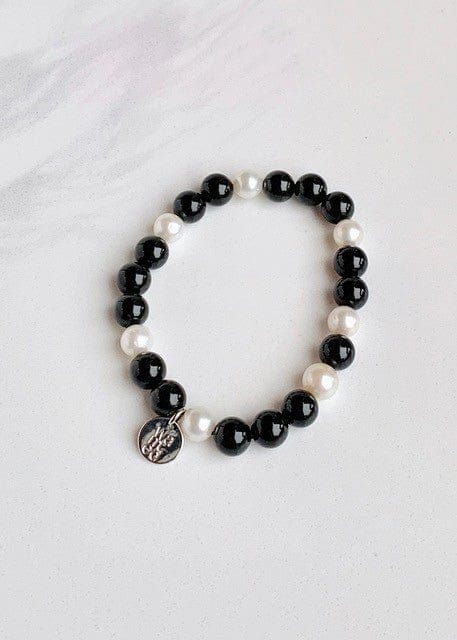 WANTED - STRETCH AGATE BRACELET