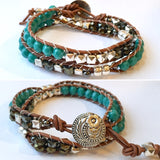 Double Ladder Wrap Bracelet: February 29, 10am - 12:30pm | Class Sign Up
