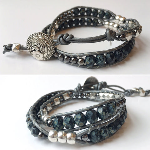 Double Ladder Wrap Bracelet: October 26, 5:30-8 | Class Sign-Up