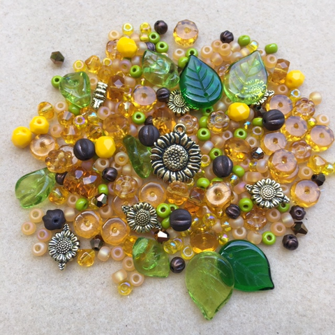 Sunflower Bead Mix