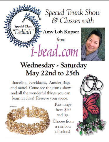 Amy Loh-Kupser Trunk Show | May 22 - 25 | Class Sign Up