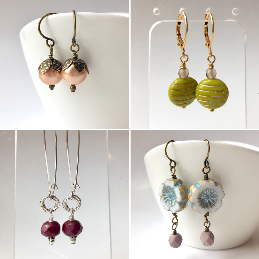 Earrings 101: January 31, 2 - 4pm | Class Sign Up