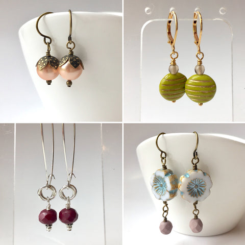Earrings 101: March 27, 2 - 4pm | Class Sign Up
