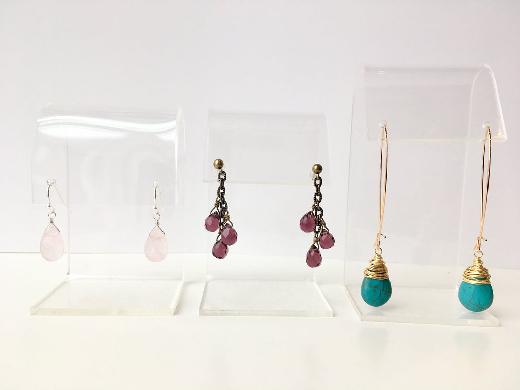 Earrings 201: July 30, 6 - 8pm | Class Sign Up