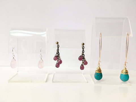 Earrings 201: October 22, 6 - 8pm | Class Sign Up
