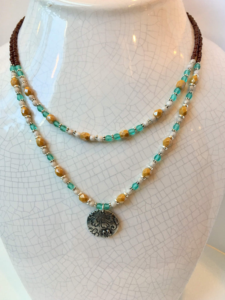 Firepolish Frenzy Necklace: August 13, 6 - 8pm | Class Sign Up