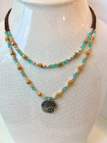 Firepolish Frenzy Necklace: October 3, 6 - 8pm | Class Sign Up