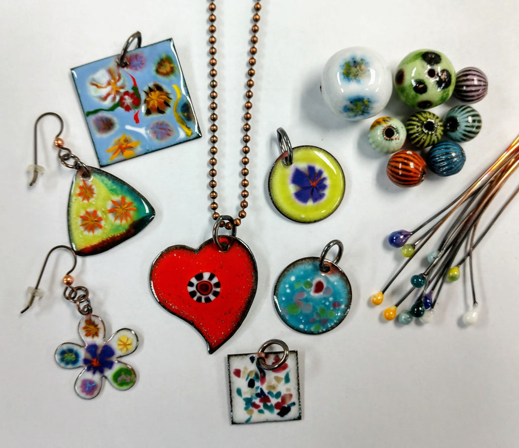 Torch-Fired Enameling Class with Sue Wade: May 2, 2:30 - 6:30pm | Class Sign Up