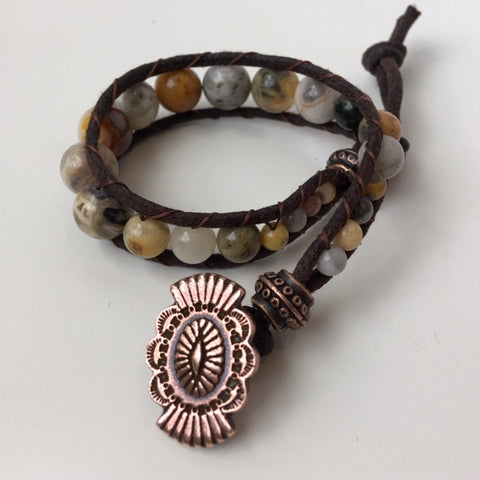 Simple Wrap Bracelet/Anklet: August 22, 6 - 8pm | Class Sign Up
