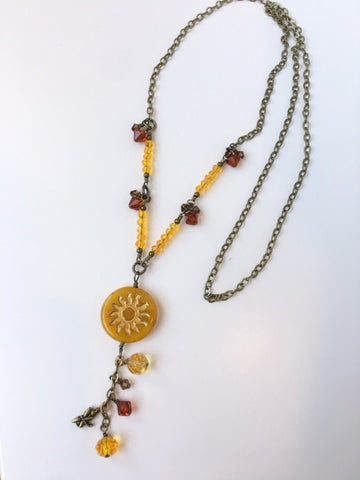 Drops of Sunshine Necklace Kit