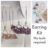 Tassel Earring Kit - Gold Triangle