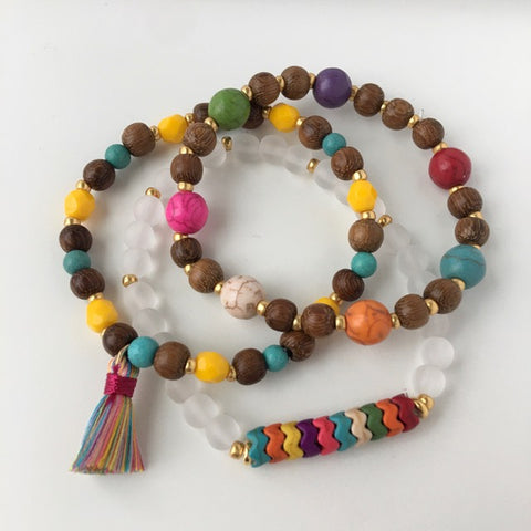 Bright Stack Stretch Bracelet Kit