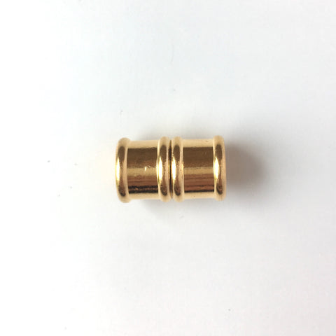 Bamboo Magnetic Clasp - 10mm - Gold Plated