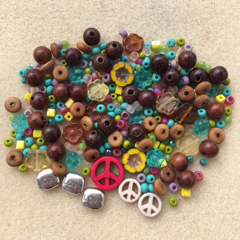 Peace-Love-Beads Mix