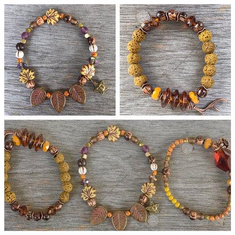Wander in the Woods Stretch Bracelet Kit