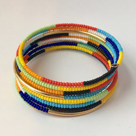 Summer Stack Memory Wire Bracelet Kit