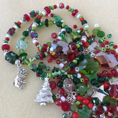 Fun & Festive Stretch Bracelet Kit