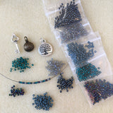 Memory Wire Necklace Kit - Choose color