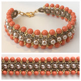Woven Pearls Bracelet: July 27, 10am - 2pm | Class Sign Up