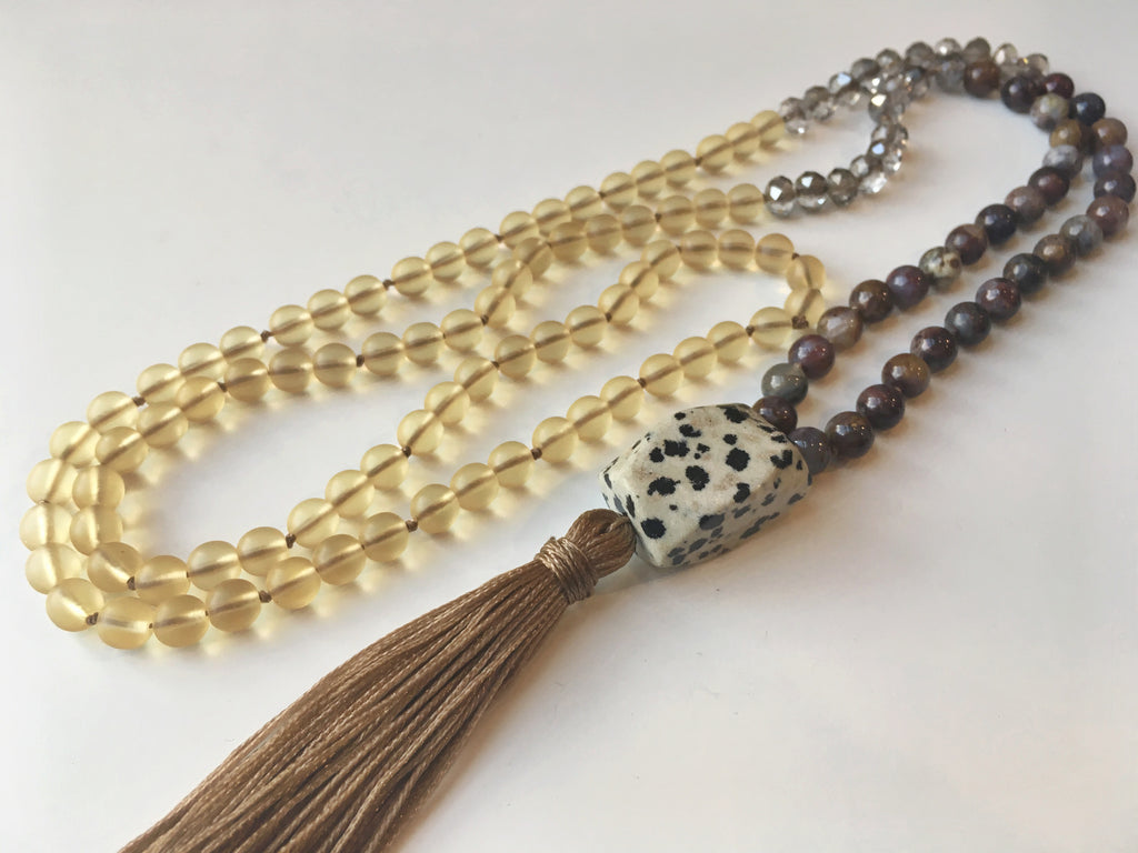 Beaded Tassel Necklace: May 26, 10am - 2pm | Class Sign-Up