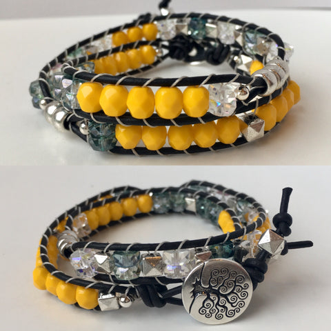 Double Ladder Wrap Bracelet: April 3rd, 10am - 1pm | Class Sign Up