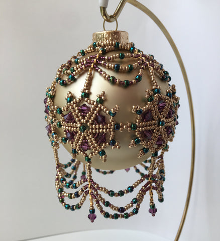 Beaded Ornament Stitching Session: November 16, 10:30 - 5:30pm | Class Sign-Up