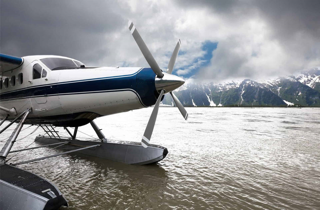 Float Plane on Water