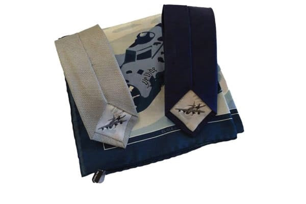 Aviation Gifts - Ties & Pocket Square