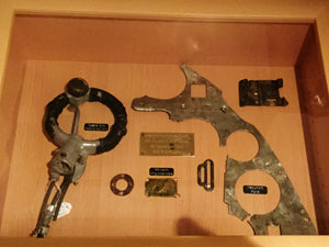 Recovered parts from Hurricane V7497 shot down in the Battle of Britain