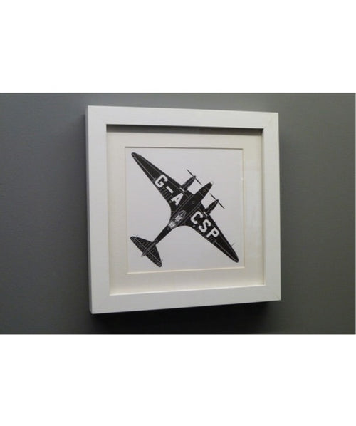 Framed Art Black Magic Comet Racer